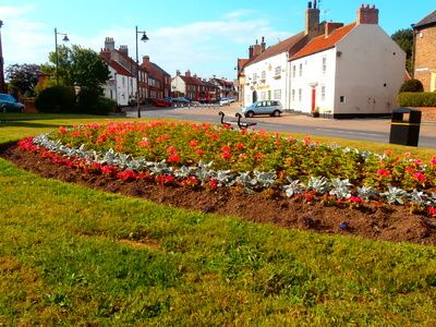 Greatham scoops GOLD in Northumbria in Bloom