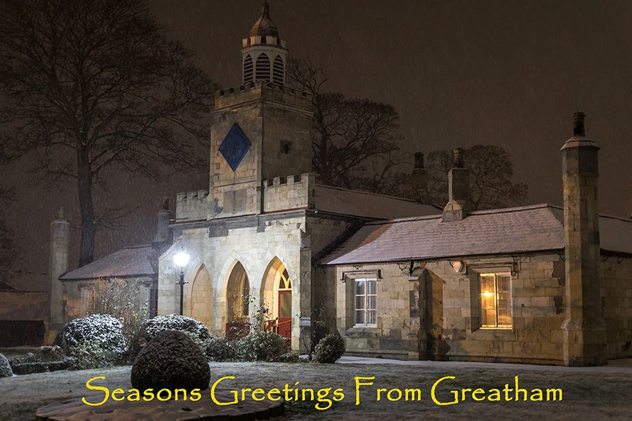 Greatham Christmas Cards now on sale