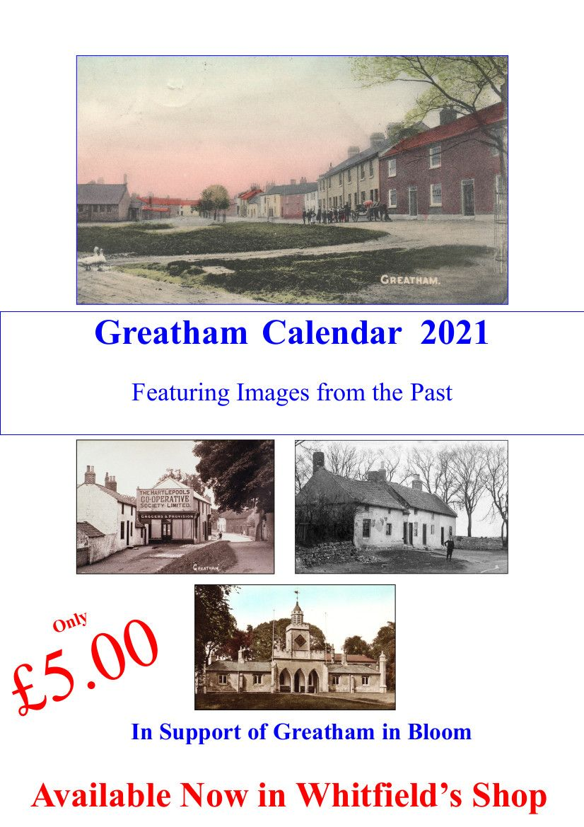 2021 Greatham Calendar now on sale